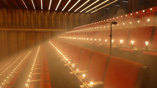 40-Watt-Glühbirnen simulieren die menschliche Körperwärme. © Caverion GmbH