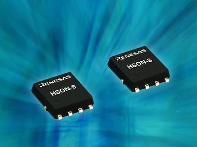 Renesas Electronics präsentiert sieben neue Power MOSFET Produkte im 8-Pin HSON Gehäuse für kompaktere Steuerungseinheiten in Automobil-Anwendungen