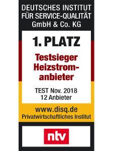n-tv Testsieger Heizstromanbieter 2018