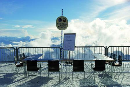 MES-Gipfeltreffen auf der Zugspitze