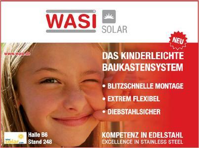 WASI Solar - Das kinderleichte Baukastensystem