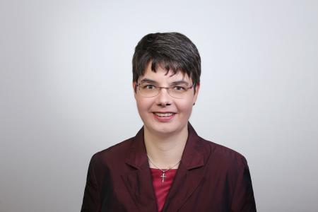 Prof. Anja Geigenmüller (© TU Ilmenau/AnLi Fotografie)
