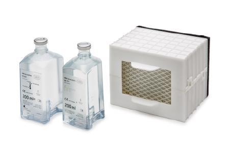 Pflegeöl, Reinigungslösung und HEPA-Filter werden im neuen Assistina TWIN Care Set angeboten