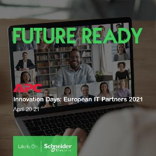 "Schneider Electric ""APC Innovation Days: European IT Partners 2021"""