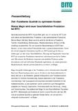 [PDF] Pressemitteilung:  Ziel: Exzellente Qualität zu optimalen Kosten