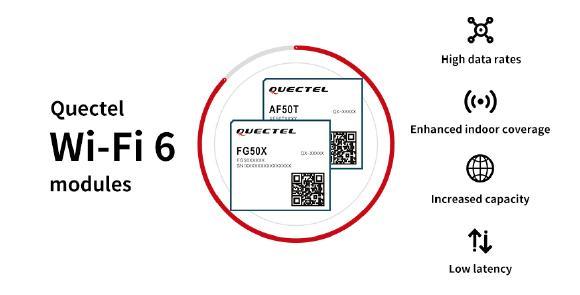 Brandneue WiFi 6-Module für Automotive und Industrie von Quectel