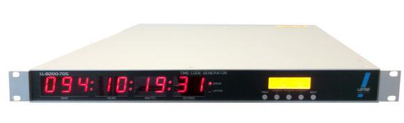 LL-8200-70X GPS synchronisierter Zeit- und Frequenzgenerator