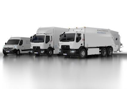 Renault Trucks präsentiert auf der diesjährigen IAA Nutzfahrzeuge in Hannover seine neue vollelektrische Baureihe Z.E.