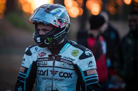 Michael Dunlop while »Tyre Test« at Pikes Peak International Hill