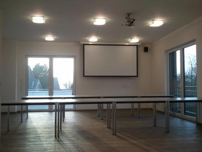 Neue Schulungsräume - hier fehlen nur noch Details.