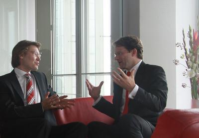 Thorsten Becker und Tilo Ferrari, Geschäftsführer der Management Angels