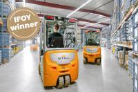 """STILL liegt auch 2018 beim IFOY erneut an der Spitze der """"Best in Intralogistics"""", Foto: STILL GmbH"""