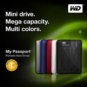 Neue My Passport®-Generation: Erste tragbare Festplatte mit 2 TB kommt von Western Digital®