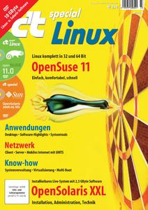 """Das Titelbild c't special """"Linux"""""""