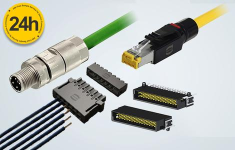The samples of HARTING product range can be ordered easily