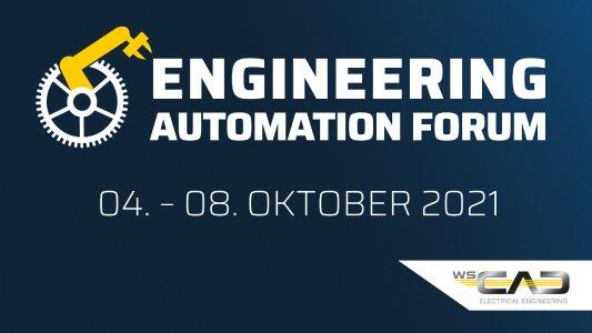 Vom 4. bis 8. Oktober bietet das Softwareunternehmen WSCAD interessierten Anwendern erneut Onlinezugang zum exklusiven Engineering Automation Forum (EAF)