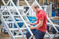 Umfassender After-Sales-Service: HYMER Project bietet seinen Kunden auch nach der Auslieferung zuverlässige Unterstützung, unter anderem durch die vorgeschriebene regelmäßige Prüfung der Sonderkonstruktionen durch versierte Fachleute