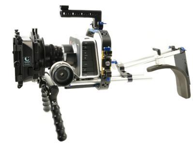 Prototyp an der Blackmagic Cinema Camera