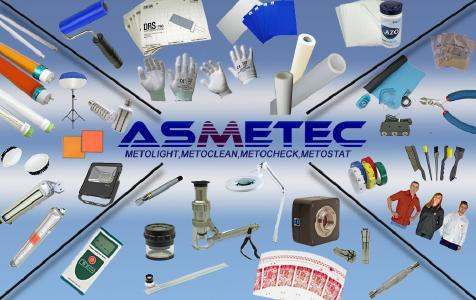 Produkte bei Asmetec unter den Marken METOLIGHT, METOSTAT, METOCLEAN, METOCHECK