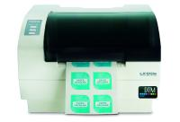 LX610e – world's first desktop inkjet label printer with integrated x/y cutting plotter