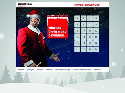 Siewert & Kau Adventskalender / Interaktiver Adventskalender bei Siewert & Kau