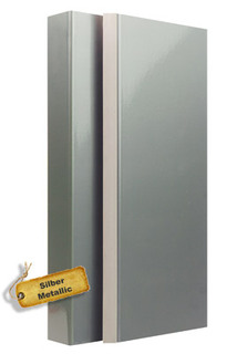 Zarge in Silber-Metallic