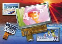 """4,3"""" High-Brightness TFT Display mit einer Auflösung von 480 x 272 Pixel"""
