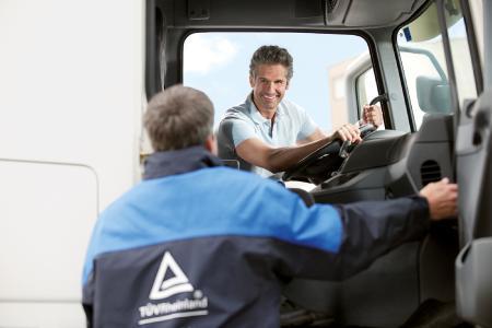 Eco-Training Berufskraftfahrer (Foto: Ralf Berndt/TÜV Rheinland)