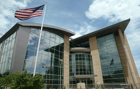 """Freedom Center"": Das berühmte Druckhaus des Omaha World-Herald. | © Omaha World-Herald"