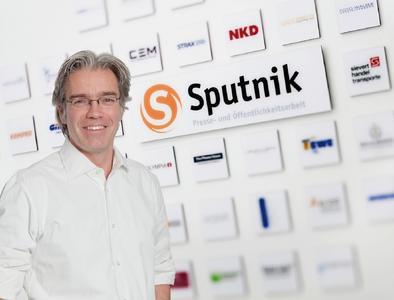Klaus Baumann, Geschäftsführer Agentur Sputnik