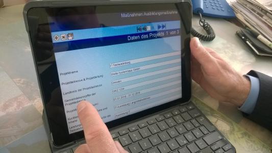 G2 auf iPad