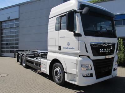 Rheinmetall transfers driver training trucks to Bundeswehr / Quelle BWFPS