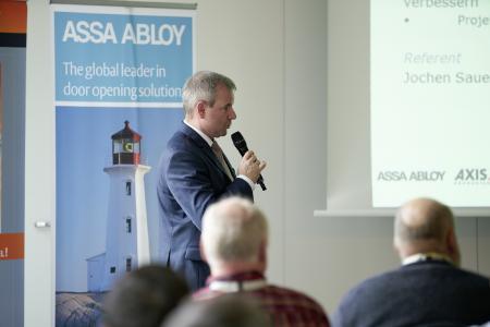 Die regionalen Architektenkammern vergaben für einzelne Themen der Seminare bis zu sieben Punkte, Fotos: ASSA ABLOY Sicherheitstechnik GmbH