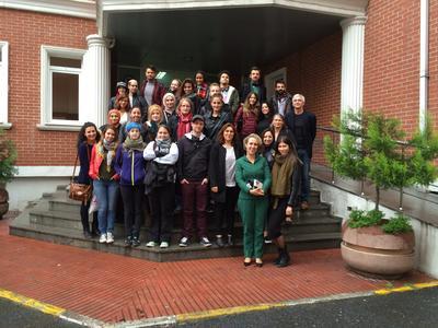 Studierende der HS Bremen und der Marmara Universitesi in Istanbul/Türkei (Foto: Hochschule Bremen)