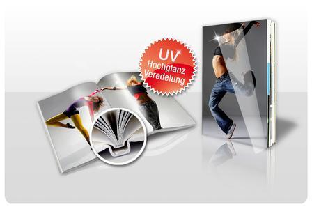 Hochglanz UV Fotobuch