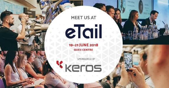 Keros digital is sponsor of Etail Europe