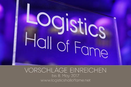 Wahllogo der Logistics Hall of Fame 2017