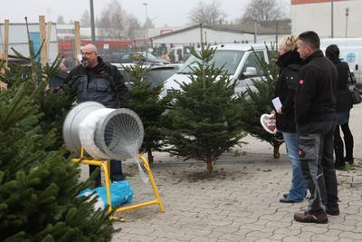 Eröffnung der neuen Niederlassung Berlin mit Fischer Weihnachtsmarkt