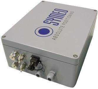 Symeo LPR-Plattform® zur zuverlässigen 2D-Positionserfassung von Fahrzeugen im gesamten Terminalbereich (Bild: Symeo)