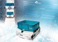 Systemintegrator Klinkhammer setzt auf flexibel skalierbare Shuttle-Roboter von Exotec.
