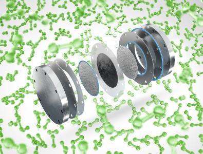 FST img PEM Elektrolysercell H2 Molecules, Copyright: Freudenberg Sealing Technologies 2021