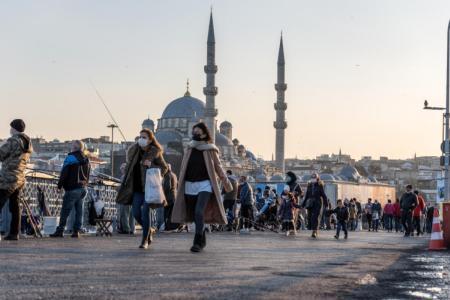 Auch das Wirtschaftsleben in Istanbul steht vor unsicheren Zeiten