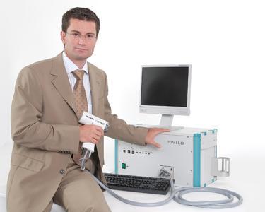 WILD Geschäftsführer Mag. Thomas Jost sieht großes Potential in dieser neuartigen Technologie zur Früherkennung von Melanomen.