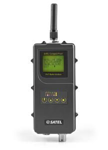 The new UHF radio data modem Compact-Proof from Satel features transmitting power of 1,000 mW and can be operated fully autonomously for more than 15 hours as a repeater station in the field
