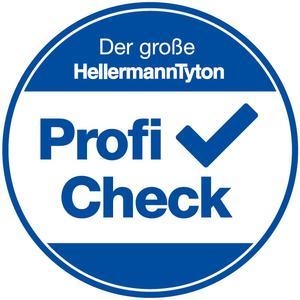 HellermannTyton lädt Installateure zum Profi-Check auf die Light + Building 2016 ein