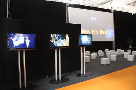 Technology Cinema 3D auf der Hannover Messe