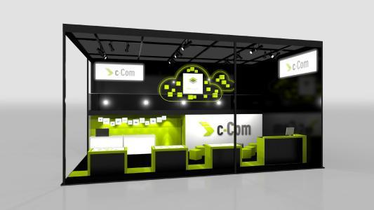 Die c-Com GmbH präsentiert sich auf der EMO 2017 mit eigenem Stand in Hannover in Halle 4, Stand B09.