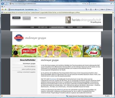 Beispielseite www.heristo.de