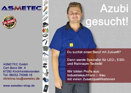 Asmetec Ausbildung Industriekaufmann / Industriekauffrau 2019