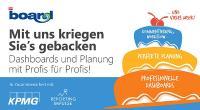 BOARD Eventreihe mit reportingimpulse & KPMG zu Dashboards und Planung
